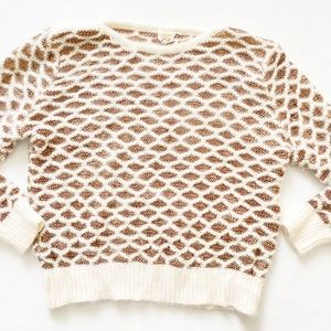 Vintage Fagro | knit angora sweater